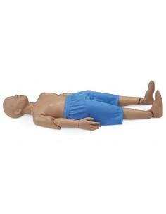 Erler ZImmer, modello anatomico in scala ridotta di scheletro umano, con colonna vertebrale flessibile